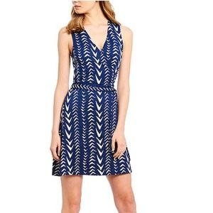 Julie Brown Rica Sleeveless Stretch Wrap Dress